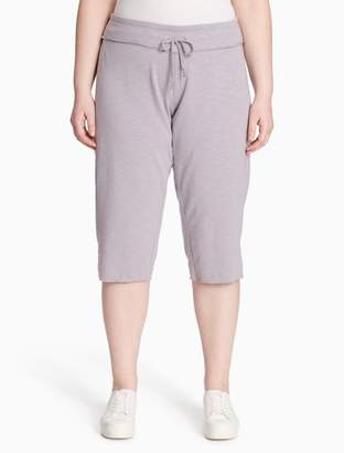 Calvin Klein plus size everyday cropped pants