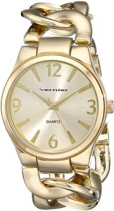 Vernier Women's VNR11081YG Classic Fashion Bracelet Quartz Watch
