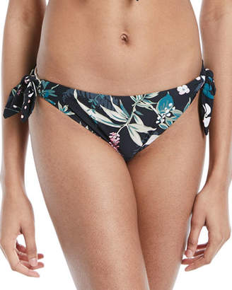 Kate Spade Reversible Floral-Print Polka-Dot Swim Bottoms