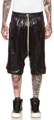 Rick Owens Short Sleeve Crew Neck Tee $281 thestylecure.com