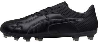 Puma Mens Capitano FG Football Boots Black/Black