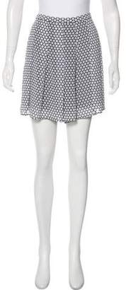 MICHAEL Michael Kors Polka Dot Print Mini Shorts