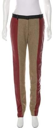 Celine Wool Skinny Pants