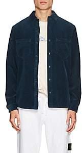 Barneys New York Stone Island XO Men's Cotton Corduroy Shirt Jacket-Dk. Blue