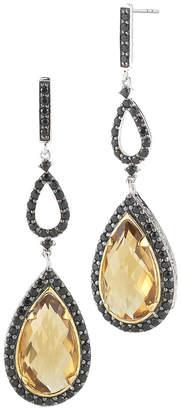 Alor Delatori by Delatori By 18K Over Silver 6.50 Ct. Tw. Gemstone Drop Earrings