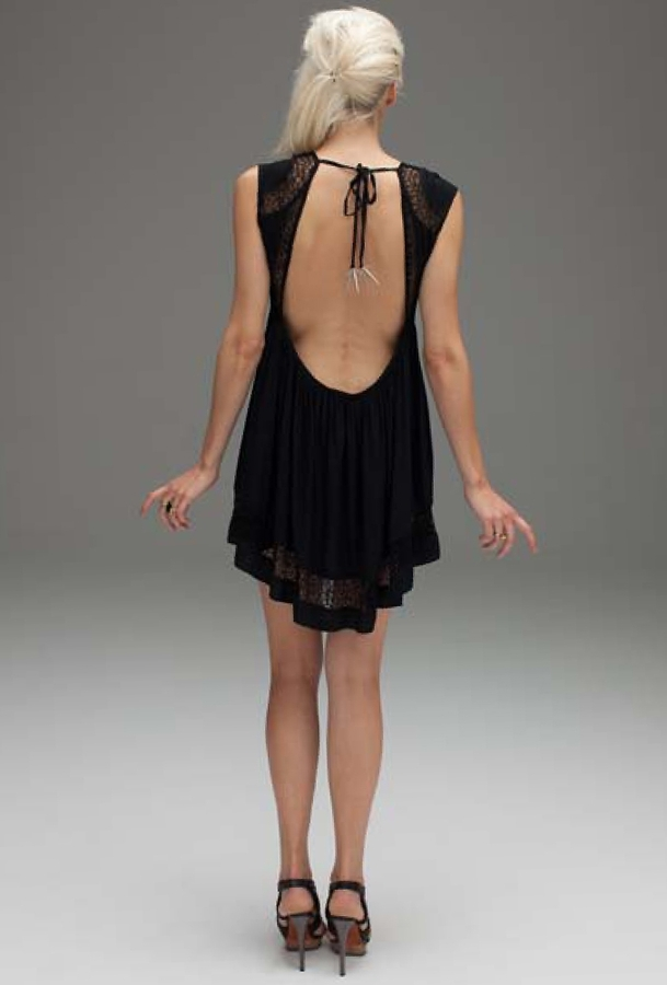Bless'ed Are The Meek Epiphany Dress in Black