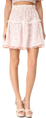 For Love & Lemons Sweet Disposition Skirt $158 thestylecure.com