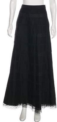 Philosophy di Alberta Ferretti Maxi Lace Skirt