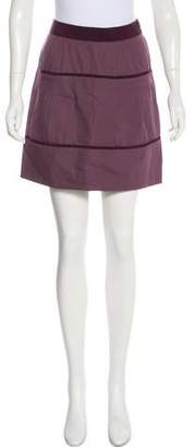 Philosophy di Alberta Ferretti Woven Mini Skirt