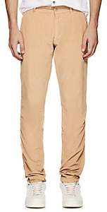 Tomas Maier MEN'S COTTON CORDUROY STRAIGHT-LEG TROUSERS-BEIGE, TAN SIZE 32