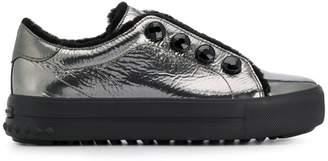 Kennel + Schmenger Kennel&Schmenger metallic lace-up sneakers
