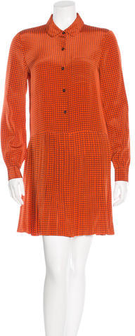Kate Spade Kate Spade New York Printed Shirt Dress
