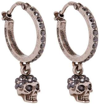Alexander McQueen Creole Mini Hoop Earrings