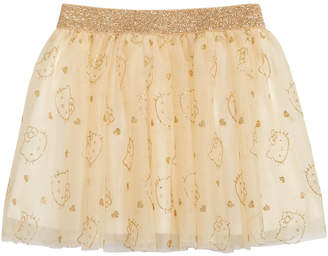 Hello Kitty Little Girls Glitter Tutu Skirt