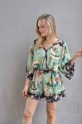 Umgee USA Kimono Style Romper