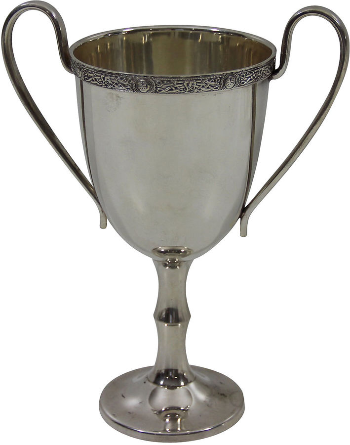 One Kings Lane Vintage English Silver Plate Cup, C. 1900