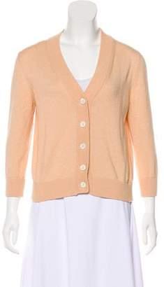 Loro Piana Knit Button-Up Cardigan