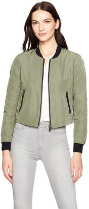 Kenneth Cole New York Women's Bomber Jacket