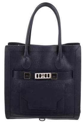 Proenza Schouler Leather Ps11 Tote Navy Leather Ps11 Tote