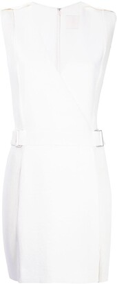 Dion Lee corrugated pleated panel mini dress