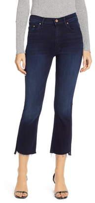 Mother The Insider Step Fray Hem Crop Jeans