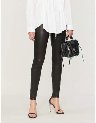 J Brand Lora ultra-skinny super high-rise jeans