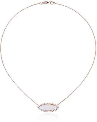 Kimberly Mcdonald opal & diamond pendant necklace