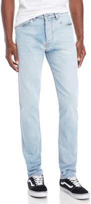 Fiorucci Light Vintage Mylar Terry Skinny Jeans