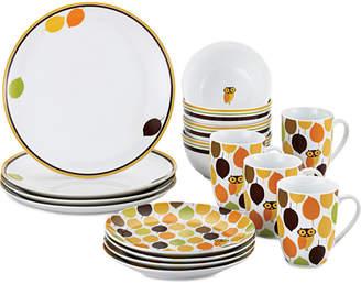 Rachael Ray Little Hoot 16-Pc. Dinnerware Set, Service for 4