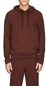 ATM Anthony Thomas Melillo Men's Brushed Pima Stretch Cotton-Blend Hoodie - Wine