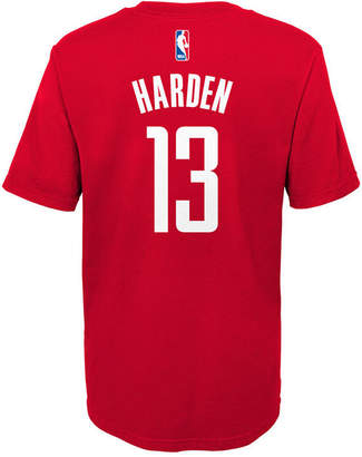 Nike James Harden Houston Rockets Replica Name & Number T-Shirt, Little Boys (4-7)