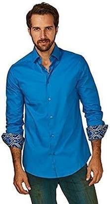 Azaro Uomo Men's Solid Button Down
