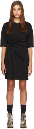 Victoria Victoria Beckham Black Tie Front Dress