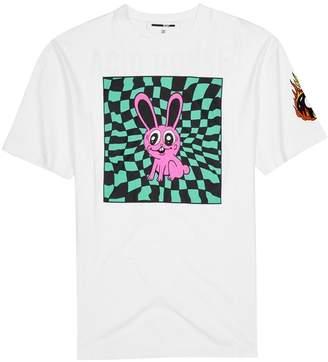 McQ Bunny Printed Cotton T