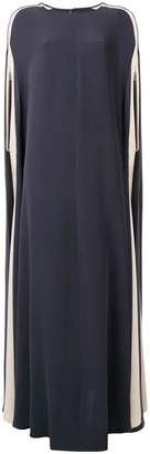 Valentino Light Cady Cape dress