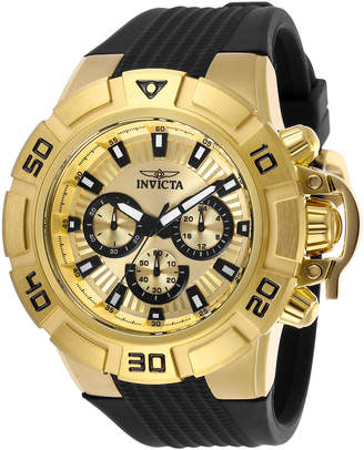 Invicta 24387 Gold-Tone & Black I Force Watch
