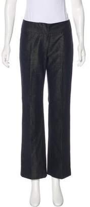 Magaschoni Mid-Rise Metallic Pants