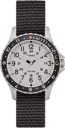 Timex R) ARCHIVE Navi Ocean Reversible NATO Strap Watch, 38mm