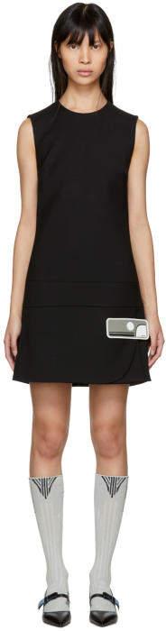 Prada Black Short Gum Patch Dress