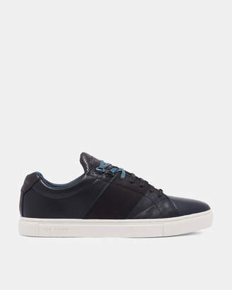 Ted Baker QUANA Leather cupsole sneakers