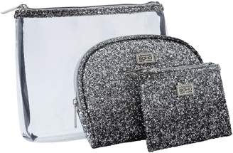 S.O.H.O New York Glitter Ombre Cosmetic Bags