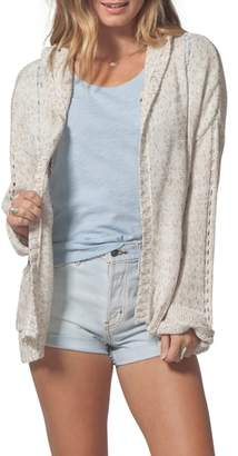 Rip Curl Swing By Hooded Cardigan
