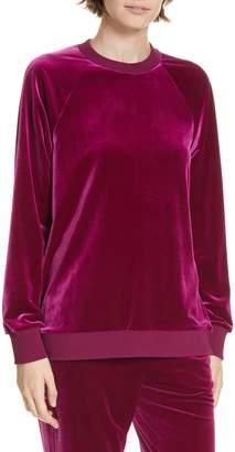 Tibi Velvet Sweatshirt