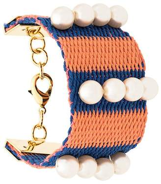 Marni woven striped bracelet