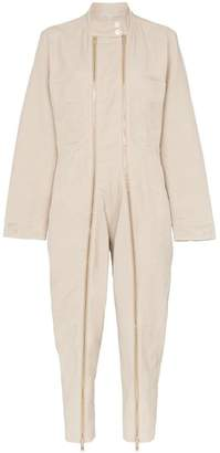 Stella McCartney double zip aviator jumpsuit