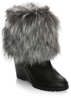 Sorel Parkcity Faux Fur Leather Boots