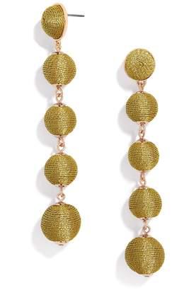 BaubleBar Eva Ball Drop Earrings