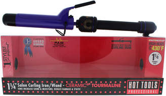 Hot Tools Black & Purple Ceramic Tourmaline Salon Curling Iron/Wand