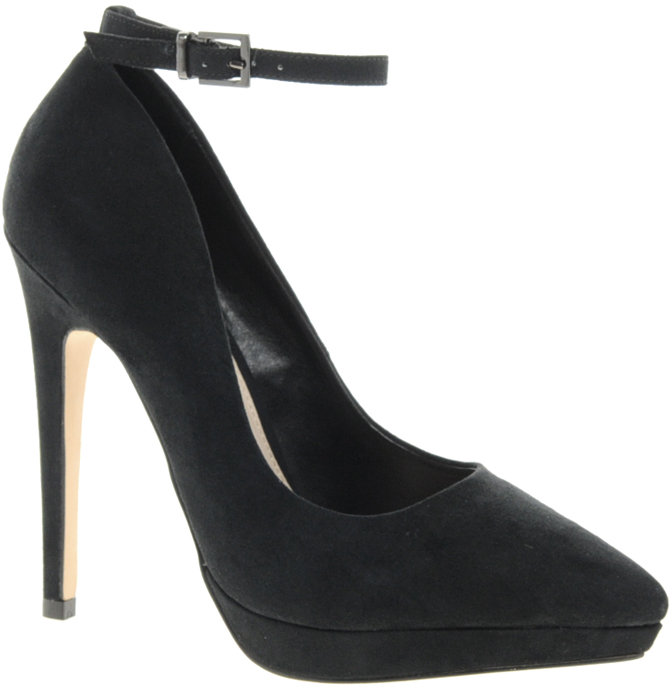 Carvela Annie Pointed Ankle Strap Court Shoes