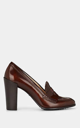 Tod's Women's Leather Pumps - Brown